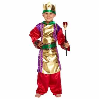 Drie koningen kerst kostuum kinderen