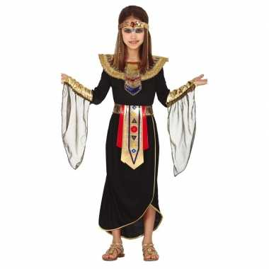 Egyptische prinses verkleed kostuum kinderen