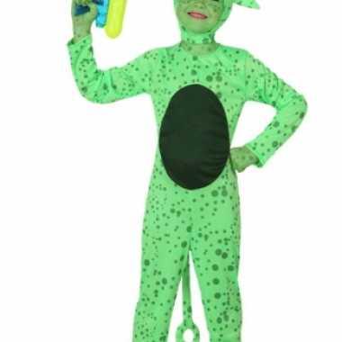 Eng alien kostuum een kind