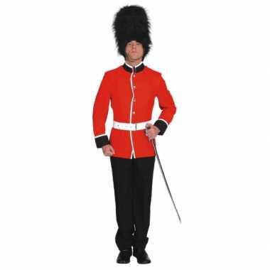 Engelse soldaat kostuum volwassenen