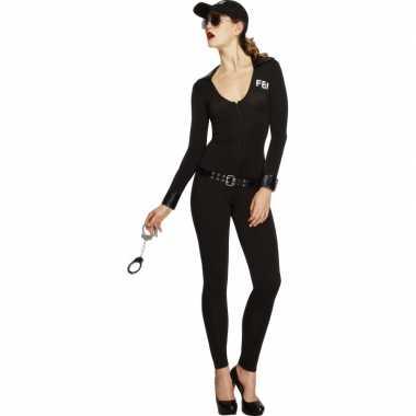 Fbi flirt kostuum dames bodysuit