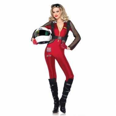 Formule 1 pitstop poes dames kostuum