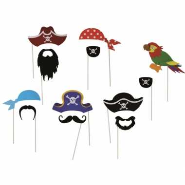 Foto prop kostuum piraat 12 delig