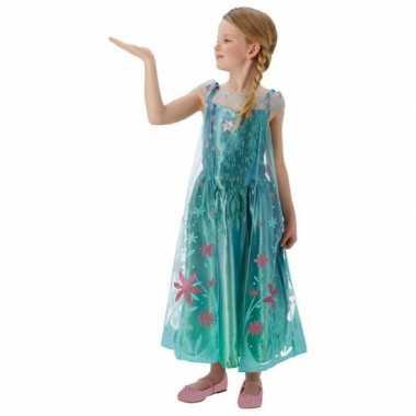 Frozen Elsa kinderkostuum