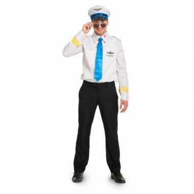 Funny piloot kostuum heren
