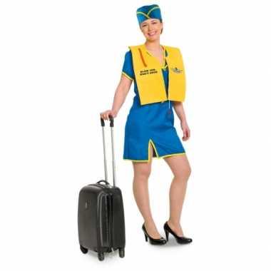 Funny stewardess kostuum dames
