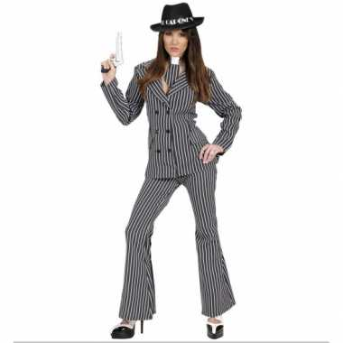 Gangster kostuum dames