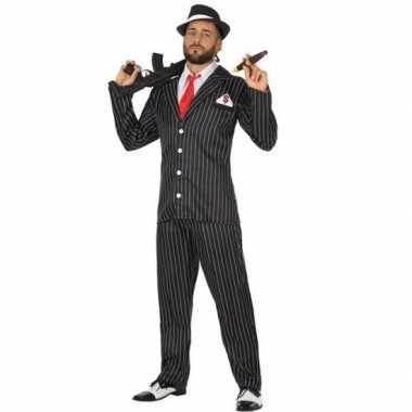 Gangster verkleed kostuum heren