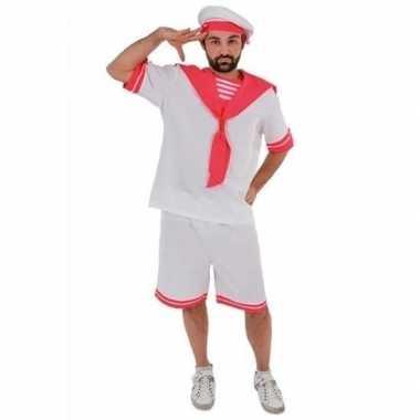 Gay pride/parade roze matrozen kostuum heren