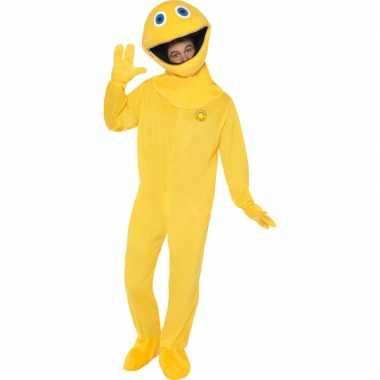 Geel Zippy Rainbow kostuum