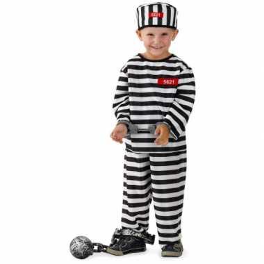 Gevangene kostuum kinderen