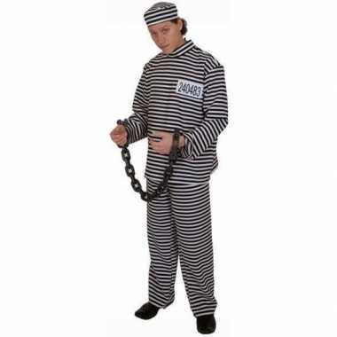 Gevangenen kostuum pet