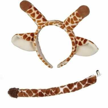 Giraffe verkleed kostuum kinderen