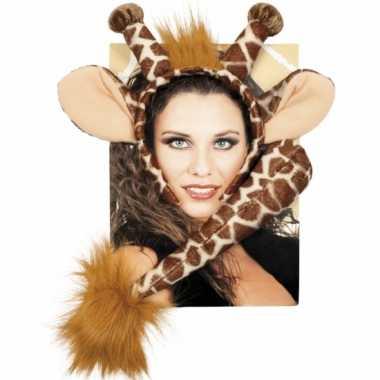 Giraffe verkleed kostuumje