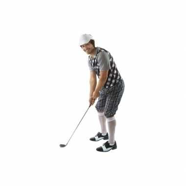 Golf kostuum zwart heren