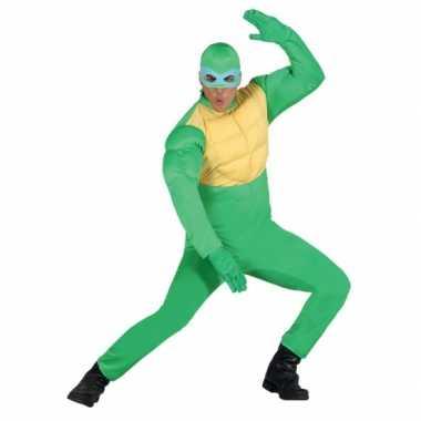 Groen ninja kostuum heren