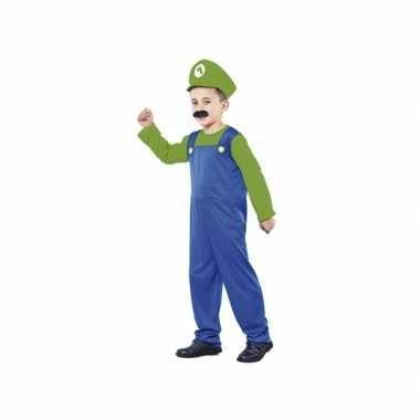 Groene Super Loodgieter kostuum