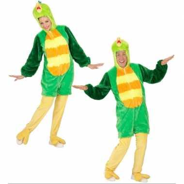 Groene vogel kostuum