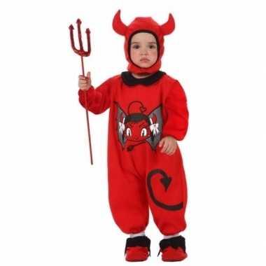 Halloween kostuum duivel baby