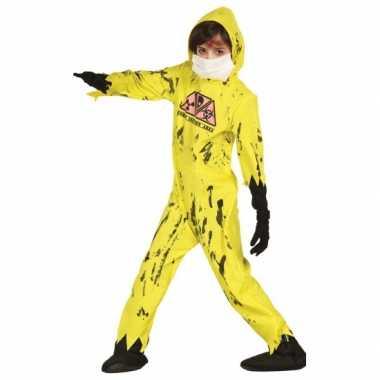 Halloween nuclear zombie kostuum kinderen