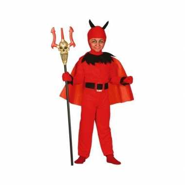 Halloween Rode duivel kostuum kinderen