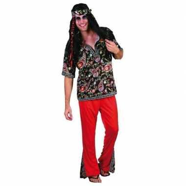 Heren kostuum hippie