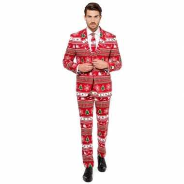 Heren kostuum kerstboom
