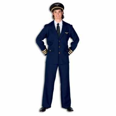Heren piloten kostuum