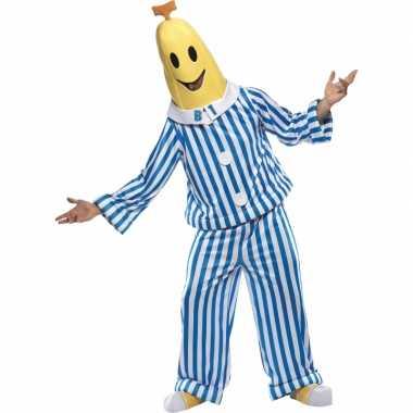 Herenkostuum bananen pyjamas