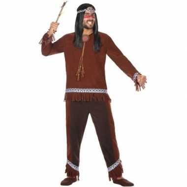 Indianen choctaw verkleed pak/kostuum heren