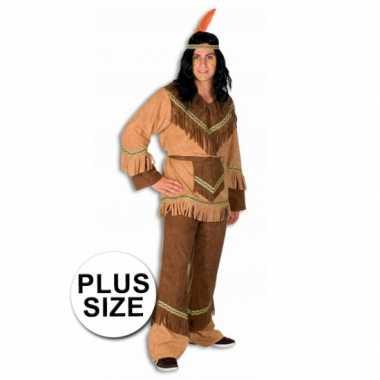 Indianen kostuum grote maat