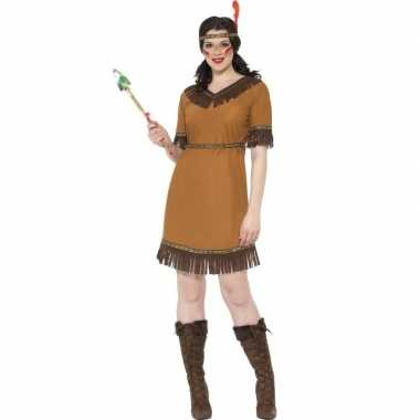 Indianen verkleed kostuum jurk dames