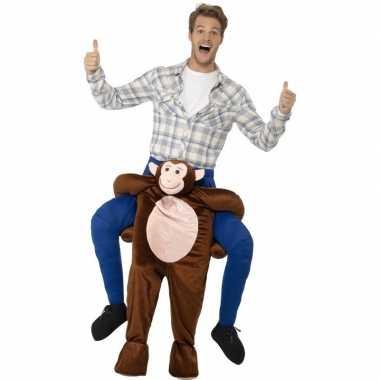 Instap dierenpak kostuum aap volwassenen