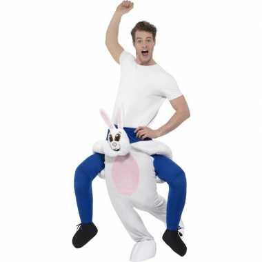 Instap dierenpak kostuum konijn/haas volwassenen