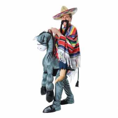 Instap kostuum Mexicaan ezel