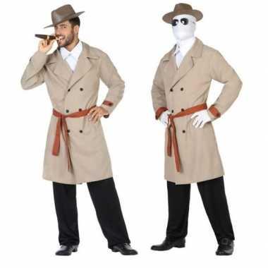 Invisible man/detective verkleed pak/kostuum heren