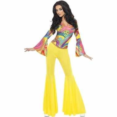 Jaren 60/70/hippie kostuum dames