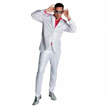 Jaren 70 glitter kostuum heren
