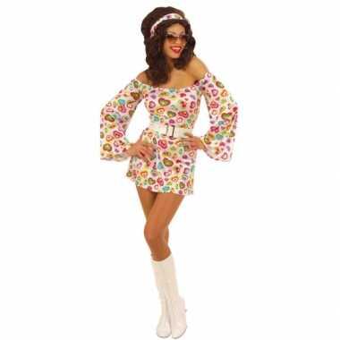 Jaren 70 kostuum hartjes dames