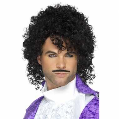 Jaren 80 popster purple verkleed kostuum