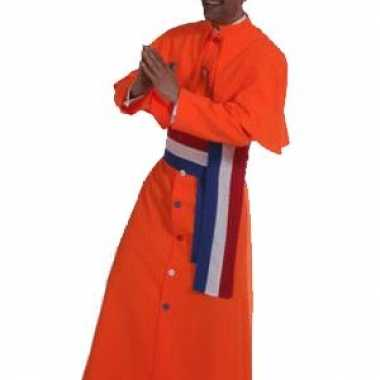 Kardinaal kostuum oranje