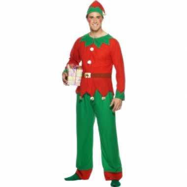 Kerstelf kostuum heren