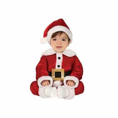 Kerstman baby verkleed kostuum 3 delig