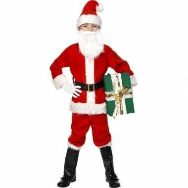 Kerstman kinder kostuum