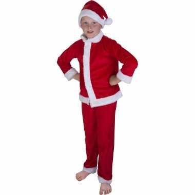 Kerstman verkleed kostuum muts kinderen