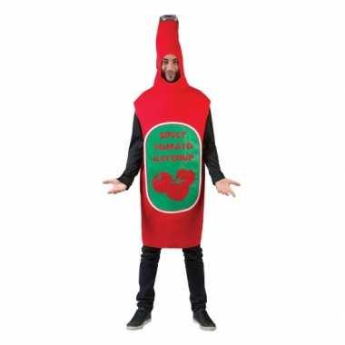 Ketchup fles kostuum
