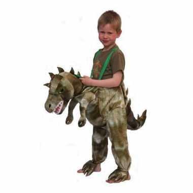 Kinder kostuum dinosaurus