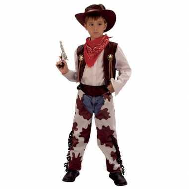 Koe cowboy kostuum kinderen
