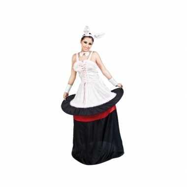 Konijn uit hoed kostuum dames