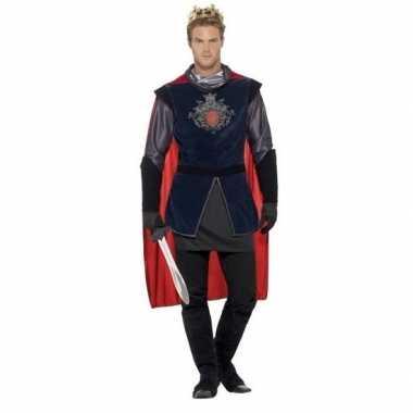Koning arthur ridder kostuum heren